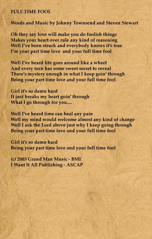 Lyric in sweet by and by lyrics : TOLER/TOWNSEND - LYRICS
